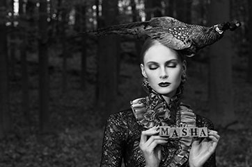 Masha Odalisque Magazine Fashion Photo Shoot
